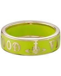 Vivienne Westwood - Green Conduit Street Ring - Lyst