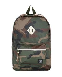 Herschel Supply Co. | Green 19l Heritage Studio Nylon Backpack | Lyst