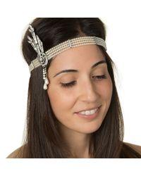 Ben-Amun | Metallic Daisy Headband | Lyst