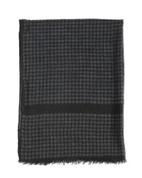 Dolce & Gabbana | Gray Wool, Cashmere & Silk Scarf for Men | Lyst