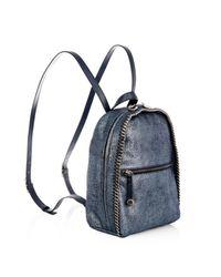 Stella McCartney Blue 'Falabella' Backpack