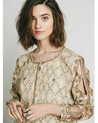 Free People | Multicolor New Romantics Womens New Romantics Mockingbird Dress | Lyst