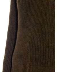 Christophe Lemaire - Green Ribbed-knit Wool-blend Sweater - Lyst