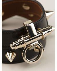 Givenchy - Black Obsedia Studded Bracelet - Lyst