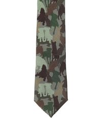 Etro - Brown 6cm Dogs Printed Silk Jersey Tie for Men - Lyst
