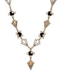 Lulu Frost - Metallic Terraced Necklace - Lyst