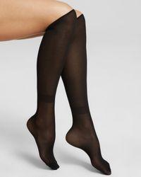 Wolford Black Colora Socks