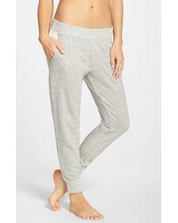 Alternative Apparel - Gray Tapered Sweatpants - Lyst