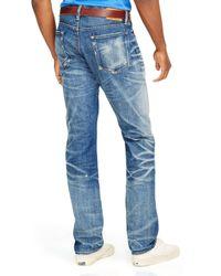 Ralph Lauren - Blue Polo Sullivan Slim-fit Bristol-wash Stretch Jeans for Men - Lyst