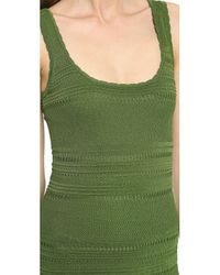 Torn By Ronny Kobo Alberta Dress Classic Green