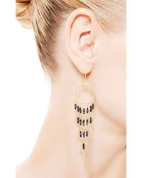 Me&Ro - Metallic Dream Catcher Earrings - Lyst