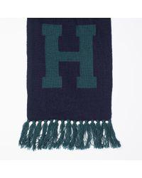 Tommy Hilfiger - Green Wool Blend Scarf for Men - Lyst