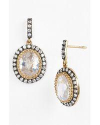 Freida Rothman | Metallic 'madison Avenue' Drop Earrings | Lyst