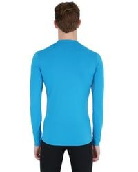 Arc'teryx Blue Phase Ar Crew Wicking Base Layer Top for men