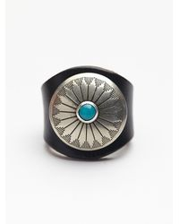 Free People | Black Womens Red Sands Ring | Lyst