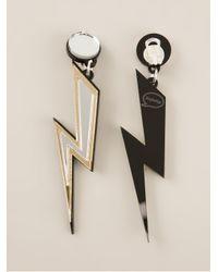 Yazbukey Metallic Storm Earrings