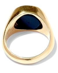 George Frost - Metallic Gold-plated Poison Justice Ring - Lyst