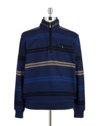 Bugatti | Blue Quarter-zip Sweater for Men | Lyst