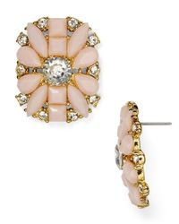 Kate Spade | Pink Turn Heads Statement Stud Earrings | Lyst