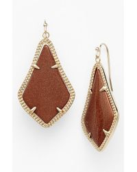 Kendra Scott | Metallic 'Alex' Drop Earrings | Lyst