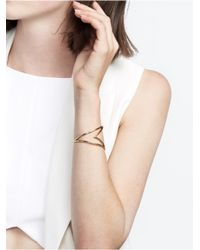 BaubleBar | Metallic Gold Ace Cuff | Lyst