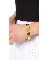 Gorjana Metallic Chaplin Cuff Bracelet