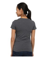 Patagonia | Gray Wander Free Cotton/poly T-shirt | Lyst