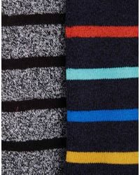 Jack & Jones - Gray 2 Pack Native Boot Socks for Men - Lyst