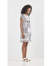 Sea - White Popover Dress - Lyst