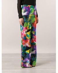 Ralph Lauren Black Label Multicolor Floral Trousers