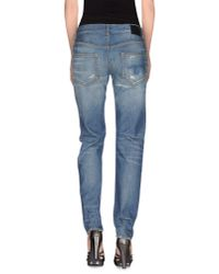 R13 | Blue Denim Trousers | Lyst