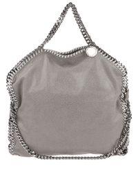 Stella McCartney | Gray Falabella Fold-Over Shopper Bag | Lyst