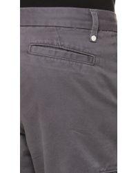 Baldwin Denim Gray Ryan Shorts for men