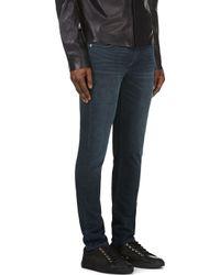 BLK DNM Blue Indigo Skinny Jeans for men