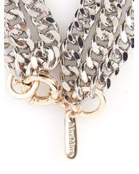 Max Mara Metallic Zefir Necklace