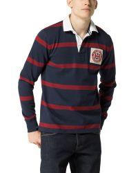 Tommy Hilfiger Blue Tylor Rugby Top for men
