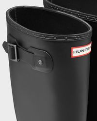 HUNTER - Black Men's Original Neoprene Lined Wellington Boots for Men - Lyst