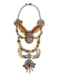 Erickson Beamon | Multicolor Fashion Tribe Necklace | Lyst
