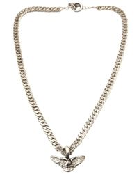 Saint Laurent | Metallic Wings Necklace for Men | Lyst
