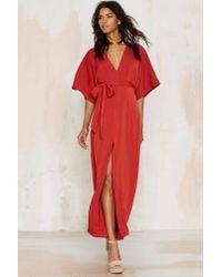 Glamorous | Red Tallulah Maxi Dress | Lyst