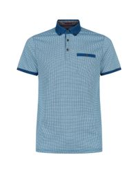 Ted Baker - Blue Rayvie Polo Shirt for Men - Lyst