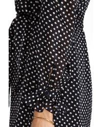 Marc By Marc Jacobs - Minette Print Dress in Black - Lyst