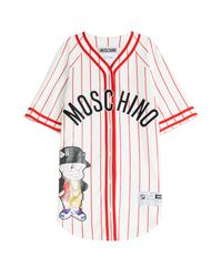 Moschino - Baseball Jersey T-shirt Dress - Multicolor - Lyst