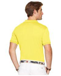 Polo Ralph Lauren Yellow Performance Mesh Polo Shirt for men