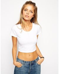 ASOS | White The Ultimate Crop Top | Lyst