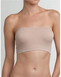 Fashion Forms | Natural Strapless Bandeau Bra | Lyst