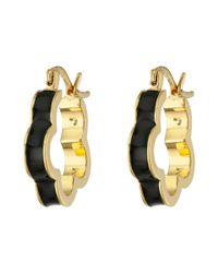 Marc By Marc Jacobs - Black Diamonds And Daisies Colored Daisy Window Mini Hoop Earrings - Lyst