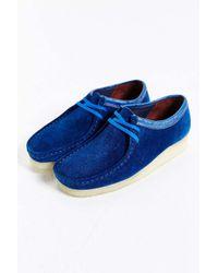 Clarks - Blue X Stussy Wallabee Shoe for Men - Lyst