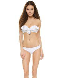 Zimmermann - Flex Bikini Bottoms - White - Lyst