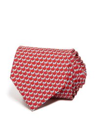 Ferragamo | Red Grasshopper Classic Tie for Men | Lyst